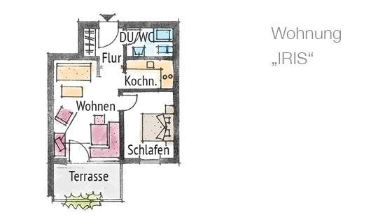 Ferienwohnung Langenargen Bodensee, Iris